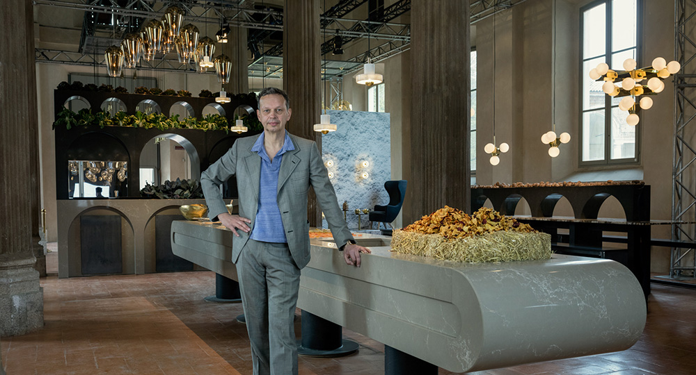 The Restaurant – Caesarstone and Tom Dixon in Milan 2016