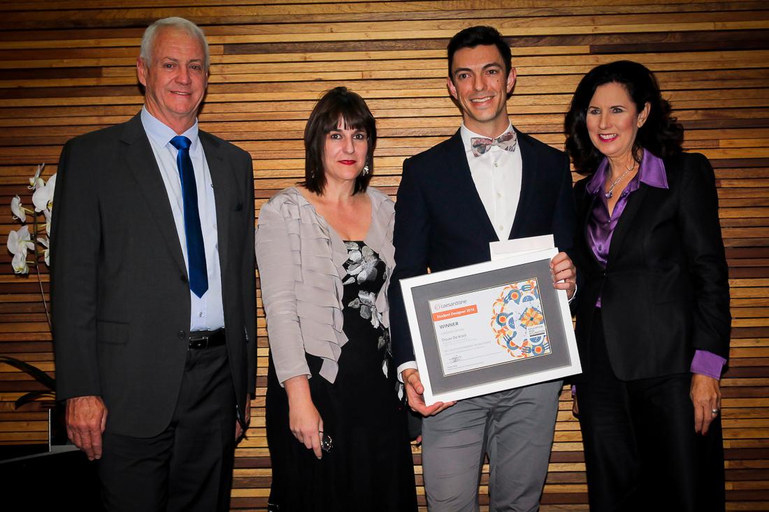 Douw De Kock Wins Student Competition