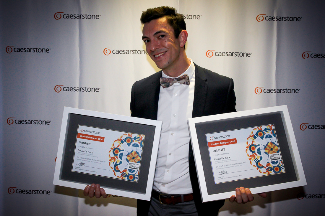VIDEO:  Caesarstone Student Designer 2016 Judging & Awards
