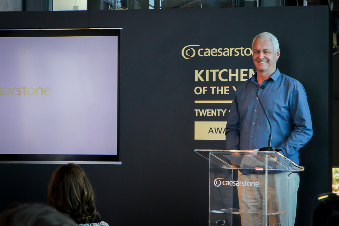 Caesarstone South Africa's marketing director, Trevor King, delivers an inspiring speech about the role of design in society.