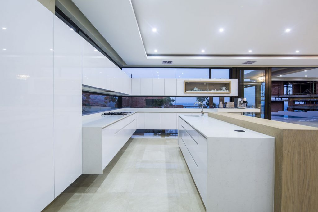 White_Shimmer_Caesarstone_best_Kitchen_island_trend
