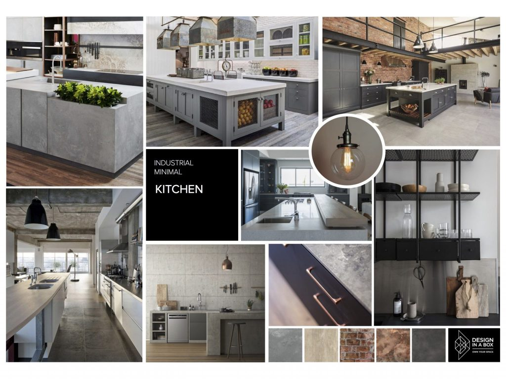 Design In A Box Caesarstone Mood Board