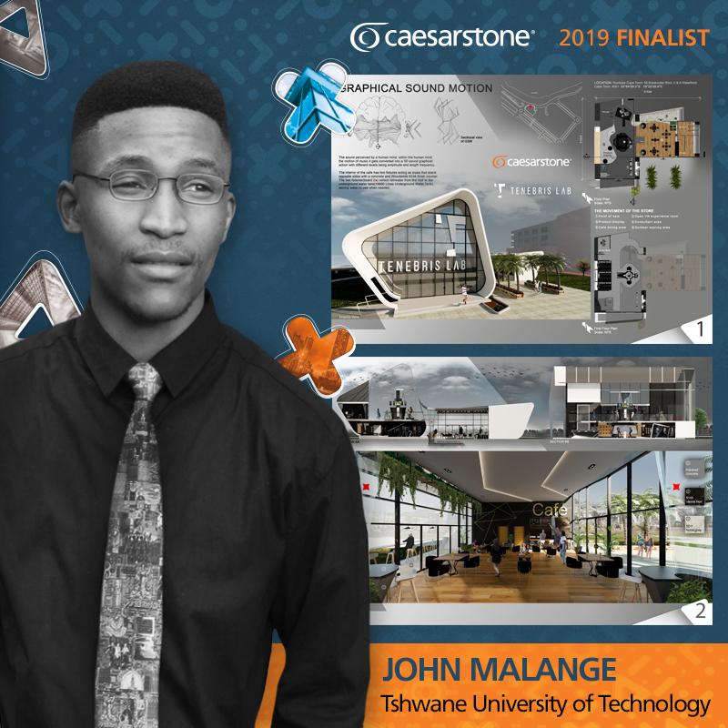 John Malange-_Caesarstone_Student_Designer_South_Africa