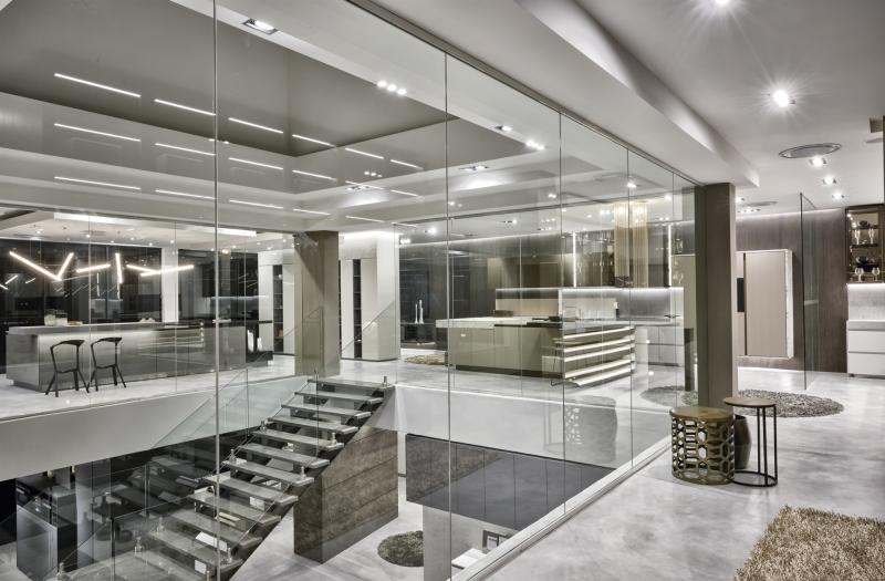 Caesarstone features in new blu_line showroom