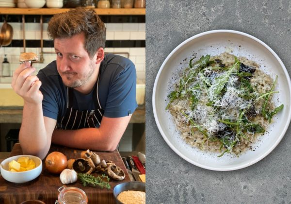 RECIPE | Mushroom Risotto with Matt Manning